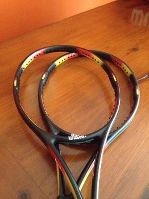 Par De Raquetas Wilson Pro Staff 95 Classic 6.1.