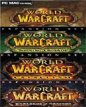 Pc / Mac World Of Warcraft Coleccion 4 Juegos (mp Y Oxxo)