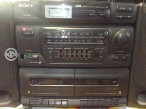 Radio grabadora Sony CFD-560