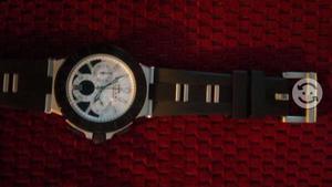 Reloj bvlgari, calibro 303, caratula blanca