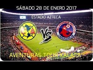 Viaje al partido América vs Veracruz sábado 28 de Enero