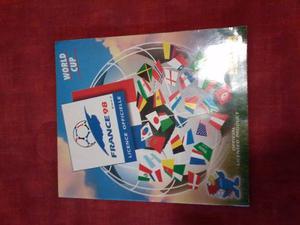 Album Del Mundial Francia 98, Editorial Panini, Al 95 %.