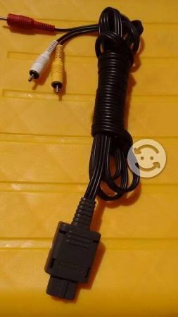 Cable AV SNES/ N64/ GAME CUBE Nintendo original