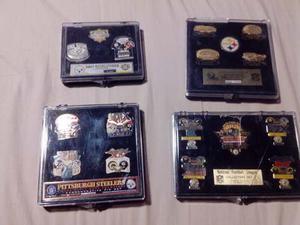Colección De Pins De Los Pittsburgh Steelers