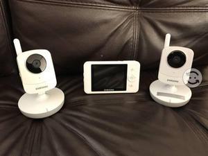 Monitor de bebe con dos cámaras Samsung