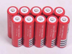 100 Baterias Brc Recargables 4.2 Volts Genericas