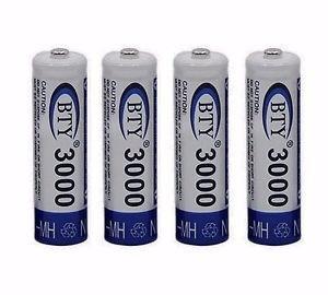 Bateria Recargable Aa Con Capacidad De mah Paquete De 4