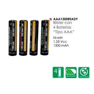 Baterias Recargables Tipo Aaa  Mah. Nuevas Y Selladas