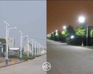 Lampara LED Solar para Exteriores