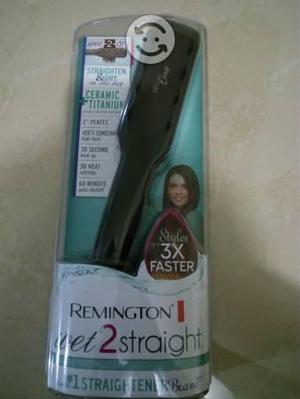 Plancha Remington para cabello mojado