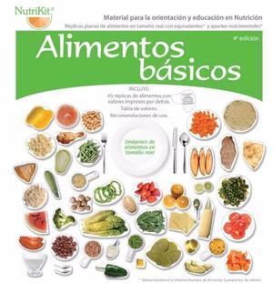 Replicas de Alimentos Nutrikit Basico