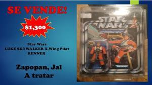 Star Wars LUKE SKYWALKER X-Wing Pilot KENNER