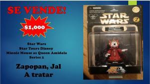 Star Wars Star Tours Disney Minnie Mouse as Queen Amidala