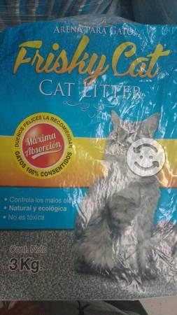Arena para gato aglutina