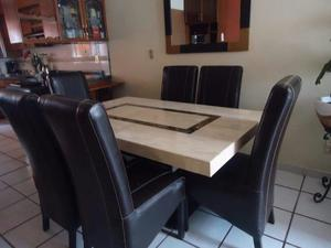 Comedor alto mesa tipo marmol 4 sillas nuevo | Posot Class - photo#48