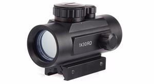 Mira De Punto Rojo Y Verde, Red Dot Sight. 1x30 Rd.