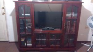Mueble de pino para tv posot class - Muebles madera de pino ...