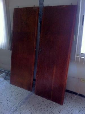 Puertas de closet madera excelentes condiciones