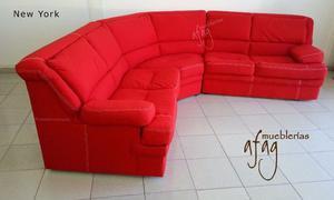 Moderna sala esquinera comoda e ideal para posot class for Sala new york