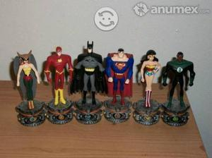 Superheroes de Coleccion Set 6 Miniestatuas