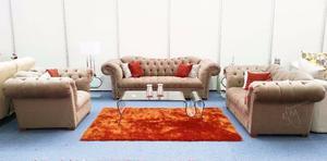 sala asturias color beige 3-2-1 bonito moderno clásico muy