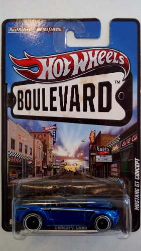 Hot Wheels Boulevard Mustang Gt Concept