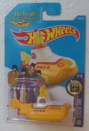 Hot Wheels The Beatles Yellow Submarine  Submarino
