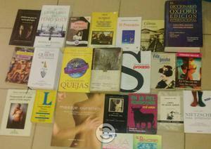 Libros y CDs y Películas