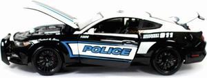 Maisto 1/18 Ford Mustang Gt  Patrulla Diecast / Burago