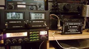 Medidor De Potencia Digital Para Radio Cb Wattmetro