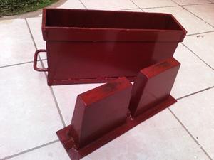 Molde para fabricar block DE 10X20X40 MATERIAL ALTA