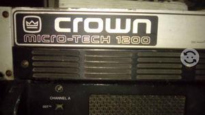Poder Amplificador Crown