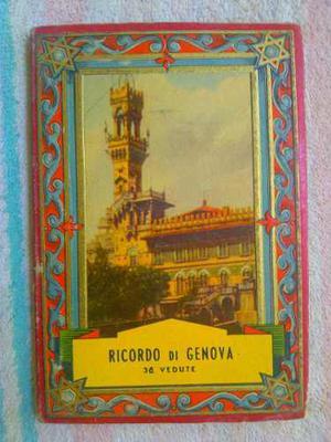 Postales Libro Ricordo De Genova 36 Postales