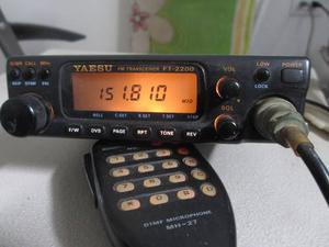 Radio Yaesu Vhf, Ft, Program.usuario Tx-rx a50w