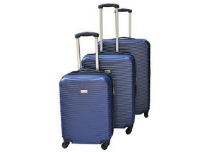 Set De 3 Maletas Rigidas De Viaje Marca Travel Land