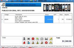 Software Punto De Venta Telefonos Celulares