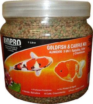 5 alimentos premium para peces japoneses 90gr cada posot for Alimento para goldfish