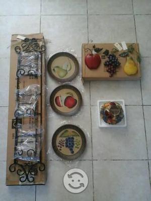 Cuadros Home Interiors De Frutas Los 3 Por 300 | Posot Class