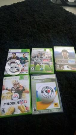 Paquete de juegos deportivos XBOX 360