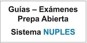 Prepa Abierta NUPLES- Guias CONTESTADAS para Examenes - 22