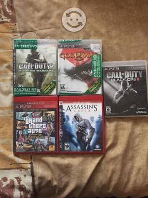 Lote de videojuegos para ps3