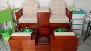 Mueble para pedicure