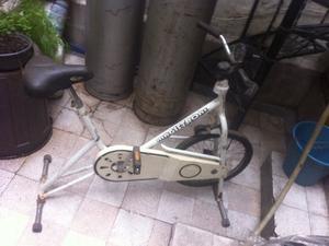 Bicicleta fija y escaladora