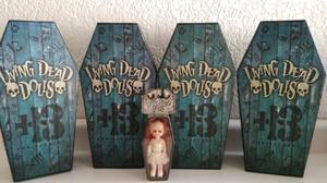 Colección Muñecas Living Dead Dolls Damien, Sin, Posey,