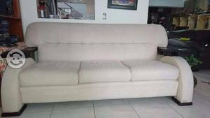 Oportunidad Sala sofa y love seat color hueso