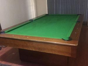 Mesa de madera para servicio en cama posot class - Vendo mesa billar ...