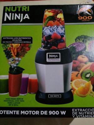 procesador de alimentos nutri ninja profecional bullet 900w