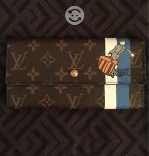 Cartera Louis Vuitton LV bellboy azul monogram