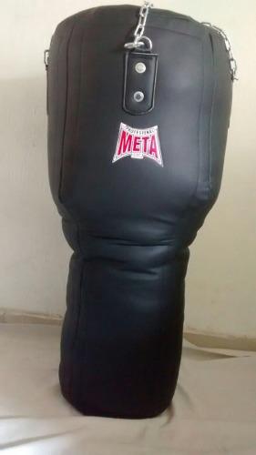 Costal De Boxeo Forma Concava En Vini-piel Envio Gratis