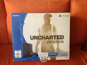 PS4 Slim de 500gb con UNCHARTED collection nuevo